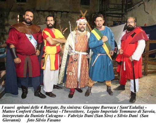 """""""Notti nel medioevo"""": l'edizione speciale del Palio di Albenga (FOTONOTIZIA)"""