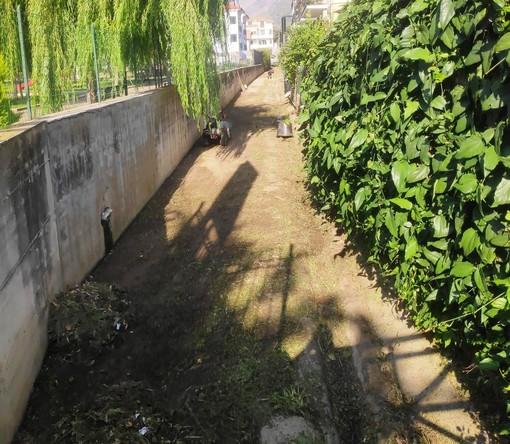 Ceriale: iniziati i lavori di pulizia e messa in sicurezza di torrenti, corsi d'acqua, canali e condotte
