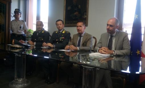 Da sinistra: Alessandro De Luca, Mario Palumbo, Pier Luigi Pianta e Davide Pretti