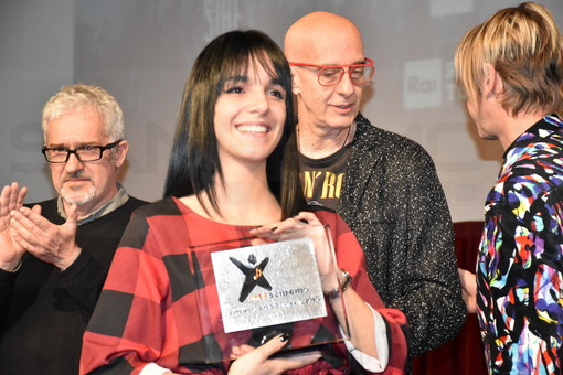 Arianna Manca (sotto le foto della premiazione)