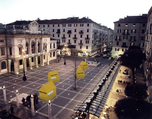 """Architetti in piazza Sisto: nuova installazione per """"Open! Studi aperti"""" dal 30 ottobre a Savona"""