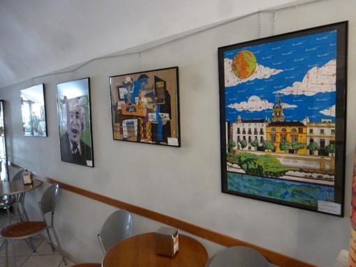 """Ceriale, inaugurata lo scorso 1° agosto la la mostra d'arte """"Bustine di zucchero"""" (FOTO)"""