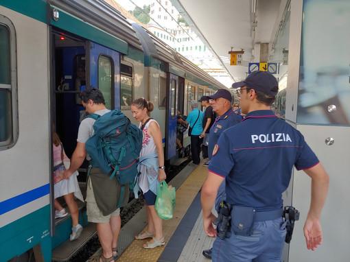 Bilancio di una estate intensa per la Polfer in tutta la Liguria