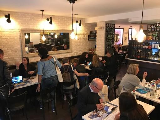 """#lamialiguria Agenzia """"In Liguria"""" ha organizzato un workshop a Parigi"""