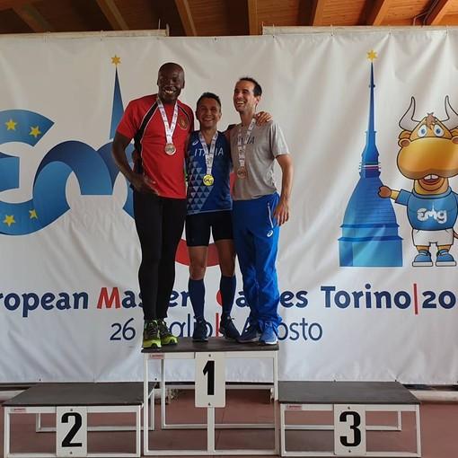Atletica Arcobaleno Savona: doppio oro di Stefano Pasquato agli European Master Games