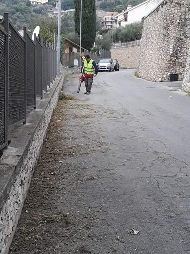 Alassio: grandi pulizie di rii e torrenti tocca a Loreto