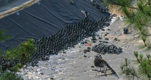 A Savona si parla del problema dello smaltimento pneumatici usati