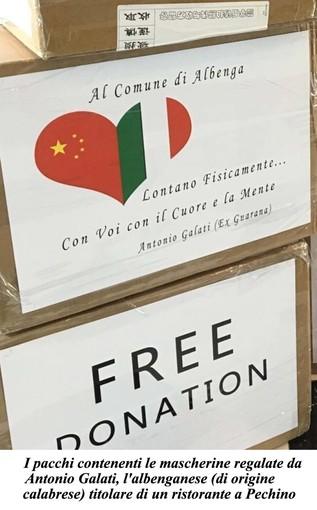 Le associazioni di volontariato albenganesi distribuiscono le mascherine donate da Antonio Galati (FOTOgallery)