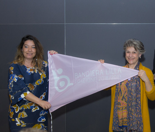 Nella foto il Vice Sindaco Nicoletta Negro e la scrittrice Simonetta Agnello Hornby, madrina dell'iniziativa