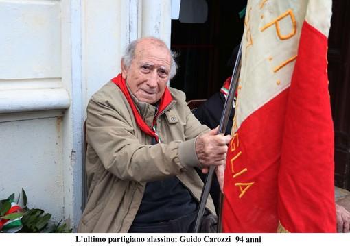 """Alassio piange l'ex partigiano Guido Carozzi, nome di battaglia """"U Guidu d'Arasce"""""""