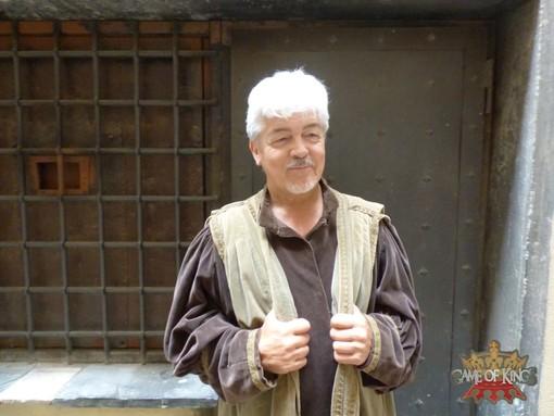 Ivaldo Castellani, che interpreta Eduard Avedis Hayk in Game of Kings.