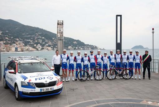La Groupama-FDJ si allena ad Alassio in vista del Trofeo Laigueglia (FOTO)