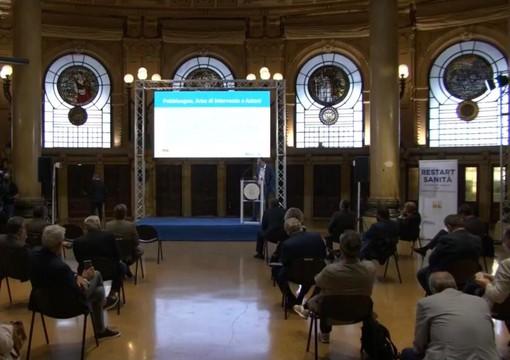 """""""Restart Sanità Liguria"""": presentato il piano di rilancio del sistema sanitario regionale (FOTO e VIDEO)"""