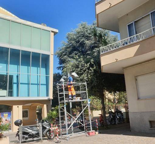 """Pietra Ligure: """"relamping"""" del quartiere Aietta nel nome dell'ambiente e del risparmio"""