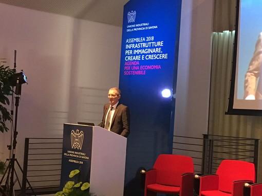 """Savona, convegno Unione Industriali sul tema delle infrastrutture, il presidente Bertossi: """"Situazione non del tutto rosea ma comunque confortante"""" (FOTO e VIDEO)"""