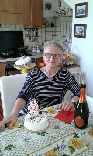 Finale Ligure augura buon compleanno a Rosa Stocco