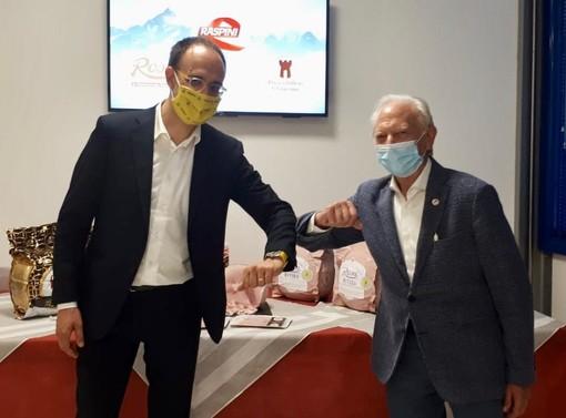 Roberto Moncavlo e Umberto Raspini