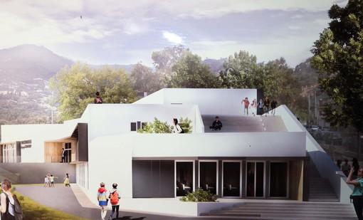 Alassio, svelato il progetto delle nuove scuole Ollandini (FOTO e VIDEO)