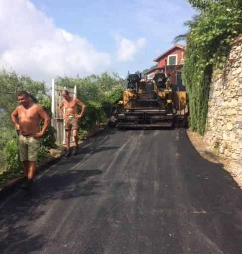 Alassio: stasera fine lavori per la Strada Solva - Cavia