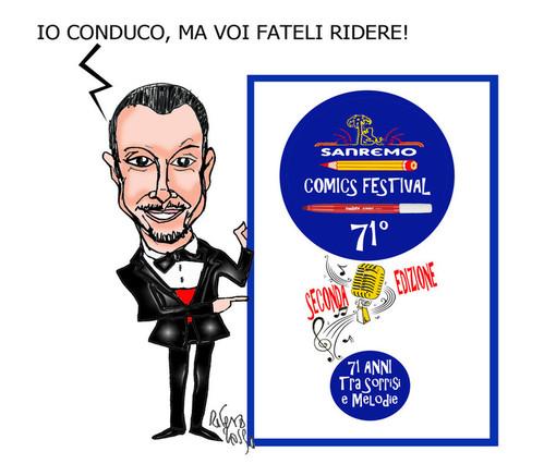 """Al via la seconda edizione di """"Sanremo comic festival"""", edizione dedicata a """"71 anni di polemiche e melodie"""""""