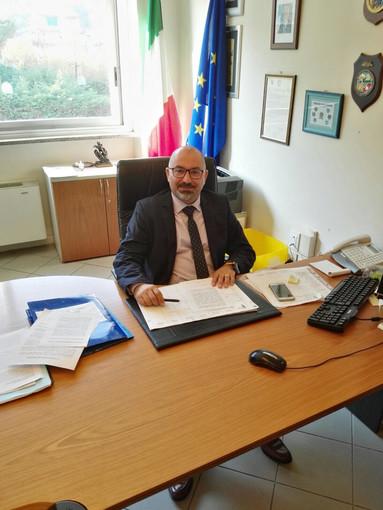 Il sindaco di Borghetto Giancarlo Canepa oggi a Radio Onda Ligure 101