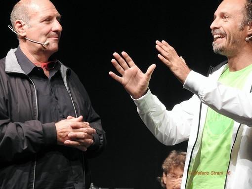 Stefano Masciarelli e Fabrizio Coniglio a Verezzi il 17 agosto