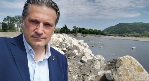 "Bastia d'Albenga, Mai (Lega) in sopralluogo sull'argine del torrente Arroscia: ""Lavori partiti speditamente"""