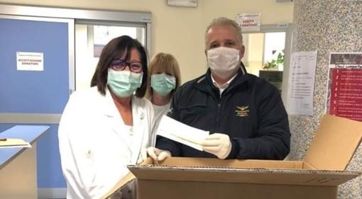 Coronavirus, dal Comune di Pontinvrea mille mascherine monouso per il reparto ematologia del San Paolo