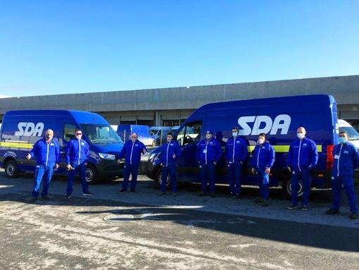 SDA gestisce l'arrivo a Savona di altre 1300 dosi di AstraZeneca
