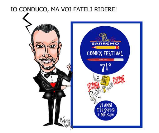 """Prorogato al 31 gennaio il termine per presentare le opere del""""Sanremo Comic Festival"""""""