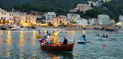 Grande partecipazione di fedeli a Laigueglia per la tradizionale festa di Santa Maria Maddalena