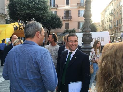 """Sottosegretario Candiani a Savona: """"La legittima difesa e il possesso delle armi sono due cose differenti"""" (FOTO e VIDEO)"""