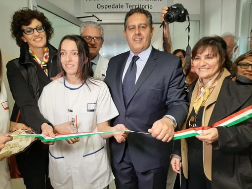 Savona, inaugurata all'ospedale San Paolo l'area di cure infermieristiche (FOTO)