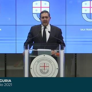 """Covid, Toti: """"Ordinanza restrittiva sull'estremo ponente ligure, vigileremo sui ristori da parte del Governo"""""""