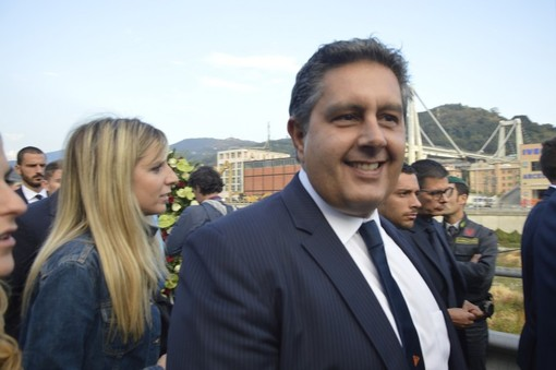 """Maltempo, Toti risponde al sottosegretario Fraccaro: """"Nessuna polemica, la Liguria è in grave emergenza: necessari strumenti straordinari"""""""