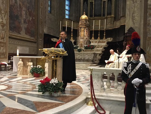 """Celebrazione della """"Virgo Fidelis"""" a Savona, i carabinieri festeggiano la patrona (FOTO)"""