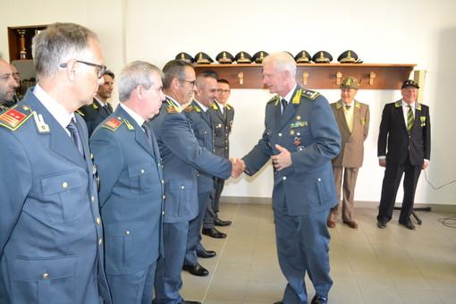 Guardia di Finanza, visita del comandante regionale Francesco Mattana al comando provinciale di Savona