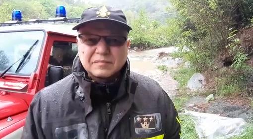 """Savona. Donne disperse nel Letimbro, Bennardo (vigili del fuoco): """"Le ricerche stanno continuando"""" (VIDEO)"""