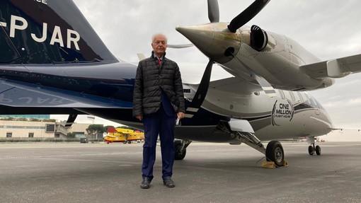 Piaggio Aerospace: la flotta del P.180 raggiunge il milione di ore di volo (VIDEO)