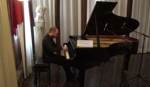 """Tommaso Boggian vince il 33° concorso pianistico """"Città di Albenga"""" (FOTO)"""