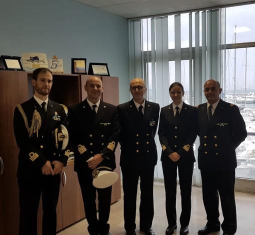 L'Ammiraglio Carlone in visita ad Alassio e Finale Ligure