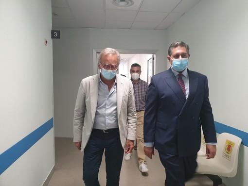 """Un angiografo e 6 posti letto in più per la medicina d'emergenza del Santa Corona, De Vincenzi: """"Un momento importante per il nostro ospedale"""""""