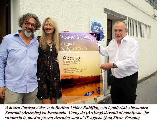 La storia di Volker Rohlfing, artista berlinese ad Alassio