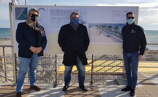Loano rivoluziona il fronte mare di ponente: al via i lavori per passeggiata e diga soffolta
