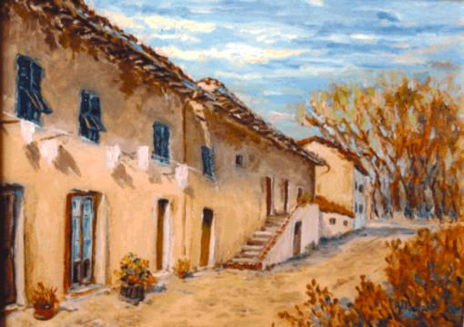 Lutto per la scomparsa del pittore Walter Allemani