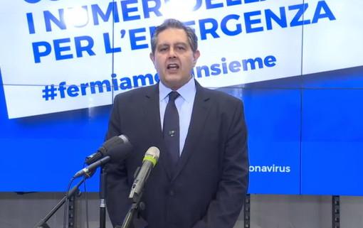 """Coronavirus, i dati della Regione nella gestione dell'emergenza. Toti: """"La sanità ligure è una delle migliori d'Italia"""" (VIDEO)"""
