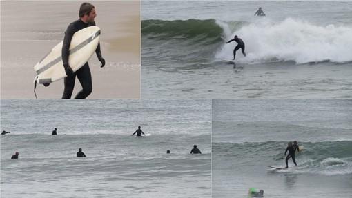 Vado Ligure: con vento e onde una domenica perfetta per gli amanti del surf (FOTO e VIDEO)