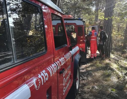 Soccorso biker a Magliolo: mobilitato l'elisoccorso Drago per il trasporto in codice rosso al Santa Corona (FOTO)