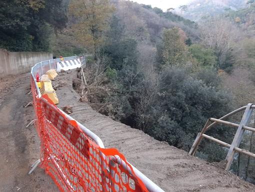 Quiliano, non preoccupa solo la strada dei Tecci, un'imponente frana mette in ginocchio Roviasca (FOTO e VIDEO)