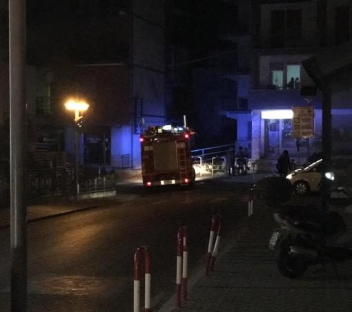 Pietra Ligure, fuga di gas in via Don Giuseppe Guaraglia: intervento dei Vigili del Fuoco